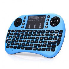Rii i8+ Backlit Mini Wireless Keyboard with Trackpad